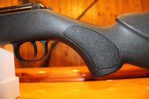 Detalle de la culata de la carabina Diana Magnum 350 Panther