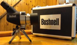 Telescopio Bushnell Spacemaster 15-45x50 mm con estuche trípode y lente de 25 aumentos