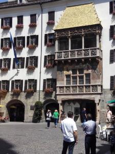 El Tejadito Dorado en Innsbruck