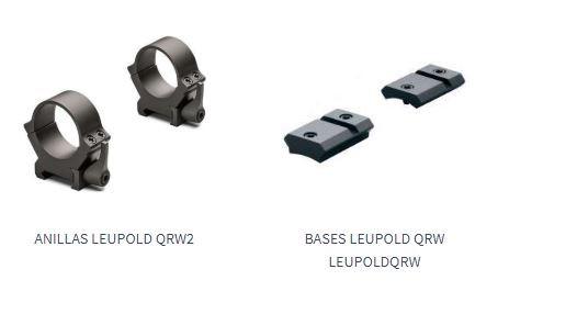Pack de monturas Leupold QRW2